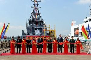 Đà Nẵng: Hạ thủy 2 tàu tuần tra cao tốc biên phòng