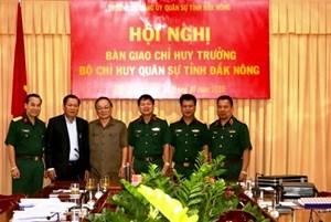 Đắk Nông có tân Chỉ huy trưởng Bộ Chỉ huy Quân sự