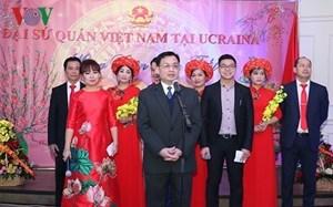 Đại sứ quán Việt Nam tại Ukraine tổ chức gặp mặt nhân dịp Tết cổ truyền Mậu Tuất 2018