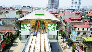 Đẩy nhanh tiến độ xây dựng các tuyến đường sắt đô thị Hà Nội