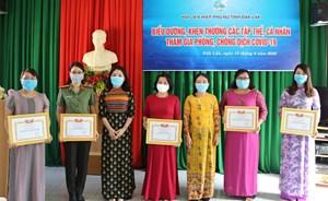 Khen thưởng phụ nữ Đắk Lắk tiêu biểu trong công tác phòng, chống dịch