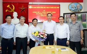 Nhà báo Lê Anh Đạt là Phó Tổng Biên tập Báo Đại Đoàn Kết