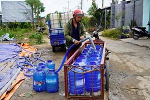 Tiền Giang: Chi 37 tỷ đồng vận chuyển nước về cứu sầu riêng