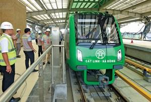 Khai thác đường sắt Cát Linh - Hà Đông ngay trong năm nay