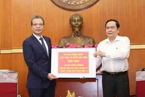 BẢN TIN MẶT TRẬN: Chủ tịch Trần Thanh Mẫn tiếp nhận ủng hộ từ Cộng đồng người Việt tại Hoa Kỳ