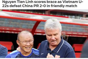 Báo châu Á ấn tượng với chiến thắng của U22 Việt Nam trước U22 Trung Quốc