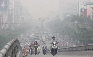 Đầu tuần, chất lượng không khí Hà Nội ở mức xấu