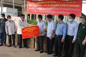 Thừa Thiên - Huế tặng các tỉnh Nam Hạ Lào thiết bị y tế phòng chống dịch Covid-19