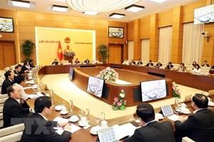 Khai mạc Phiên họp thứ 40 của Ủy ban Thường vụ Quốc hội khóa XIV