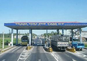 Gần 4.500 phương tiện được miễn giảm giá vé qua trạm BOT Tam Kỳ