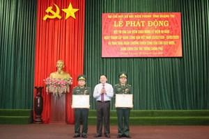 Nhiều tập thể, cá nhân thuộc Biên phòng Quảng Trị nhận Huân chương Chiến công