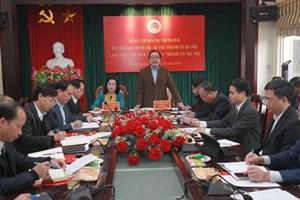 Hà Nội: Cán bộ dân vận phải tập hợp thông tin đều đặn từ cơ sở