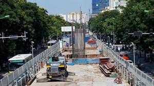 Hà Nội: Thúc đẩy tiến độ dự án đường sắt đô thị