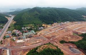 Hỗ trợ Vân Đồn xử lý các vi phạm về quản lý đất đai