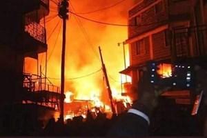 Hỏa hoạn tại khu chợ lớn nhất Kenya làm 90 người thương vong