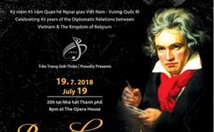 Hòa nhạc kỷ niệm 45 năm quan hệ ngoại giao Việt Nam - Vương quốc Bỉ