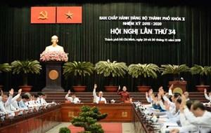 TP Hồ Chí Minh: Khai mạc Hội nghị Ban Chấp hành Đảng bộ thành phố