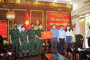 Mặt trận Quảng Nam tiếp nhận 150 triệu đồng phòng, chống dịch Covid-19