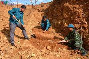 Điện Biên: Hủy nổ an toàn quả bom 340 kg