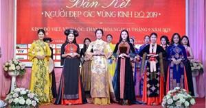 20 thí sinh lọt vào Chung kết cuộc thi Người đẹp các vùng kinh đô 2019