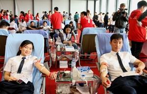Kêu gọi người dân hiến máu