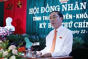 Bí thư Tỉnh ủy Thái NguyênlàmThứ trưởng Bộ Công an