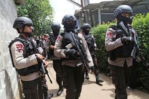 Indonesia bắt giữ 3 nghi phạm khủng bố