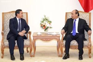 Thủ tướng tiếp Đại sứ Lào nhận nhiệm vụ