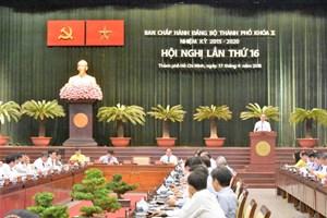 Hội nghị lần thứ 16 BCH Đảng bộ TP HCM: Vấn đề 'ngập' và 'cháy' được đặt lên bàn nghị sự