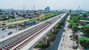 Khẩn trương hoàn thành thẩm định tổng mức đầu tư dự án đường sắt đô thị TP Hồ Chí Minh