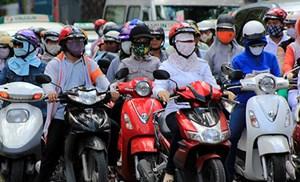Không khí ô nhiễm, khẩu trang đắt hàng