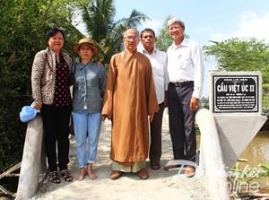 Khởi công xây dựng 11 cây cầu bê tông ở xã Thuận Hoà