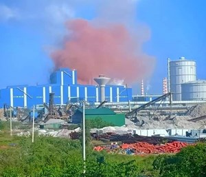 Công ty thép Hòa Phát - Dung Quất lên tiếng về hiện tượng phát tán khí thải có màu nâu đỏ