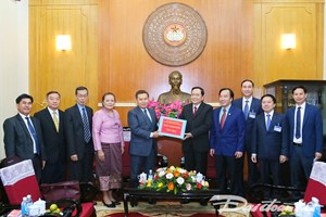 Không ngừng gìn giữ, vun đắp quan hệ hữu nghị Việt Nam – Lào