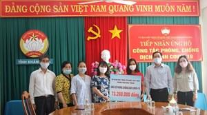 Mặt trận Khánh Hòa tiếp nhận gần 400 triệu đồng ủng hộ phòng, chống dịch (đợt 2)