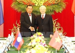 Lan tỏa tinh thần của Năm đoàn kết, hữu nghị Việt Nam-Lào