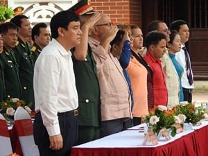 Tưởng niệm 50 năm ngày mất Chủ tịch Hồ Chí Minh