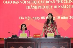 Mặt trận Hà Nội: Chủ động nắm bắt tình hình, tư tưởng nhân dân