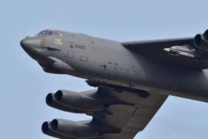 Mỹ chuyển hướng máy bay ném bom B-52 khỏi Bán đảo Triều Tiên