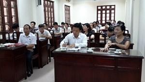 Nâng cao vai trò hoạt động của Hội thẩm nhân dân