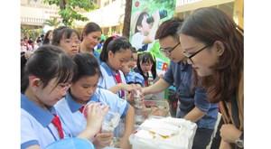 TP Hồ Chí Minh: Trường học nói 'không' với túi ni lông và sản phẩm nhựa dùng một lần