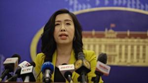 Bộ Ngoại giao lên tiếng về việc tàu sân bay Mỹ thăm cảng Tiên Sa