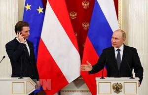 Nga và Áo ủng hộ khôi phục hòa đàm Syria dưới sự bảo trợ của LHQ