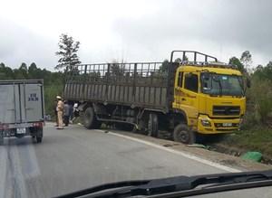 Nghệ An:Xe tải mất lái, đâm tử vong một người đàn ông