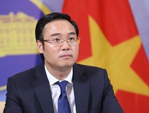 Đã giao thiệp với Trung Quốc để bác bỏ các quan điểm sai trái của nước này về Biển Đông