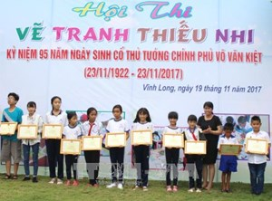 Nhiều hoạt động kỷ niệm 95 năm ngày sinh cố Thủ tướng Võ Văn Kiệt