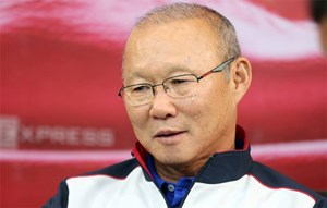 Những cung bậc cảm xúc của vị thuyền trưởng Park Hang-seo