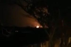 [VIDEO] Khoảnh khắc máy bay Boeing 737 bốc cháy khi rơi tại Iran