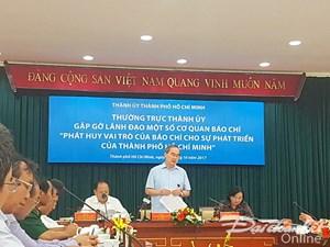 Phát huy vai trò của báo chí cho sự phát triển của TP Hồ Chí Minh