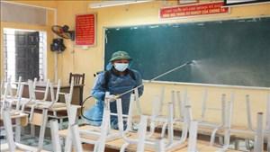 Chuẩn bị 3 phương án chống dịch Covid-19 ở các cơ sở giáo dục
